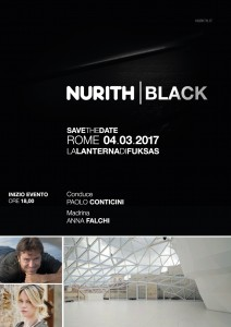 locandina evento nurith black conticini e anna falchi